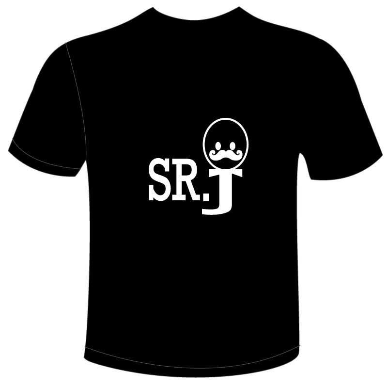 srJ logo shirt design